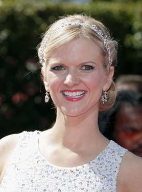 Arden Myrin at the 59th Annual Primetime Emmy Awards.